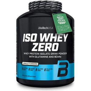 PROTÉINE Iso Whey Zero 2270g Biotech USA VANILLE Proteine