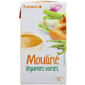 Franprix mouliné de légumes variés 1L