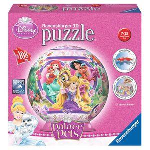 disney princesses puzzle 3d palace pets 108 pi ces achat. Black Bedroom Furniture Sets. Home Design Ideas