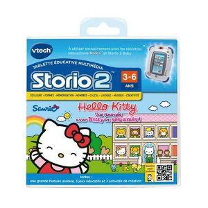 JEU D'APPRENTISSAGE Jeu éducatif Storio 2 Hello Kitty + Storio 2 - …