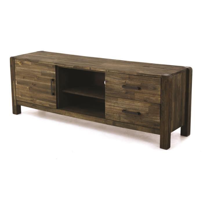bon plan cdiscount promotions sur les meubles en bois massif acacia kayu. Black Bedroom Furniture Sets. Home Design Ideas