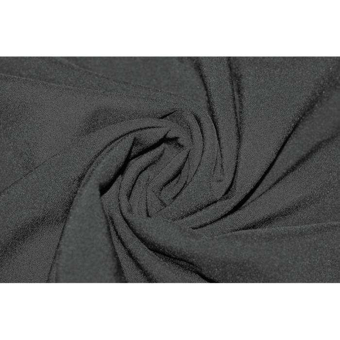 tissu bi stretch noir au m tre achat vente tissu. Black Bedroom Furniture Sets. Home Design Ideas