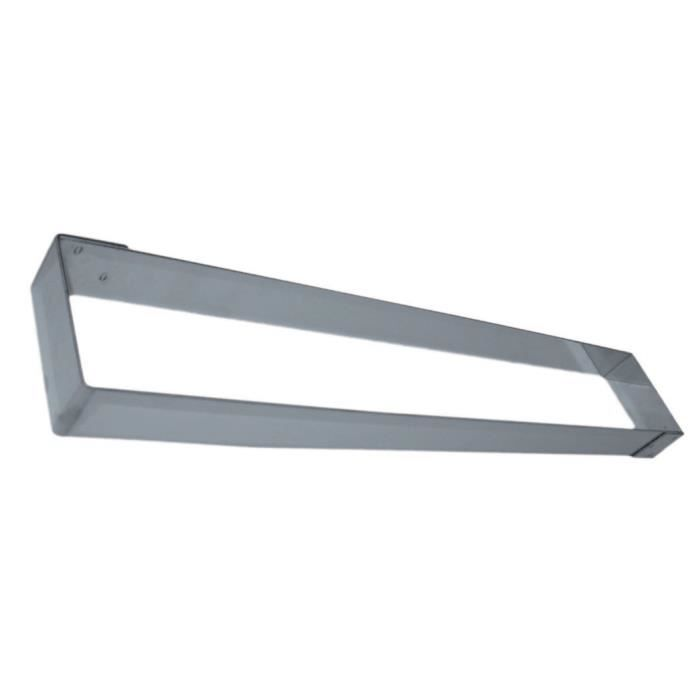 cadre inox longueur 57cm largeur 9cm hauteur inox cuisine autour de la patisserie. Black Bedroom Furniture Sets. Home Design Ideas