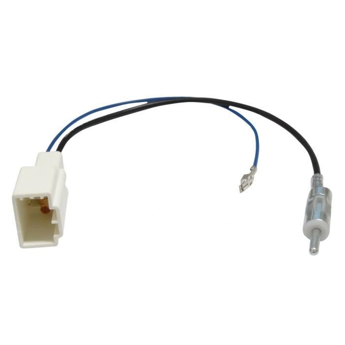 adaptateur pour prise d 39 antenne din autoradio achat vente antenne auto moto adaptateur pour. Black Bedroom Furniture Sets. Home Design Ideas