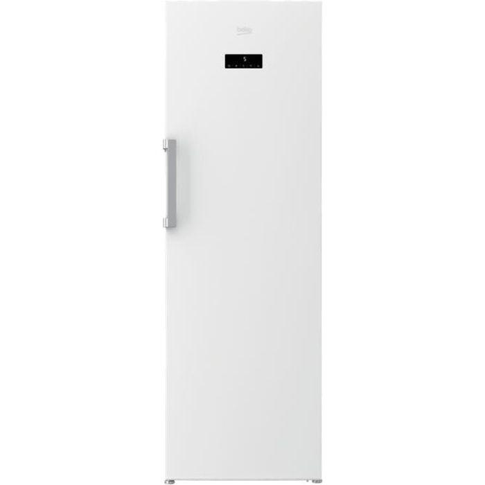 R frig rateur beko rsne445e33w 375 l no frost a achat - Refrigerateur congelateur no frost ...
