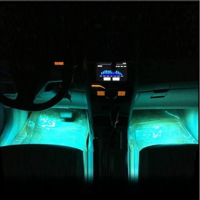 la nouvelle voiture avec l 39 atmosph re lampe led libre de modification clairage int rieur de. Black Bedroom Furniture Sets. Home Design Ideas