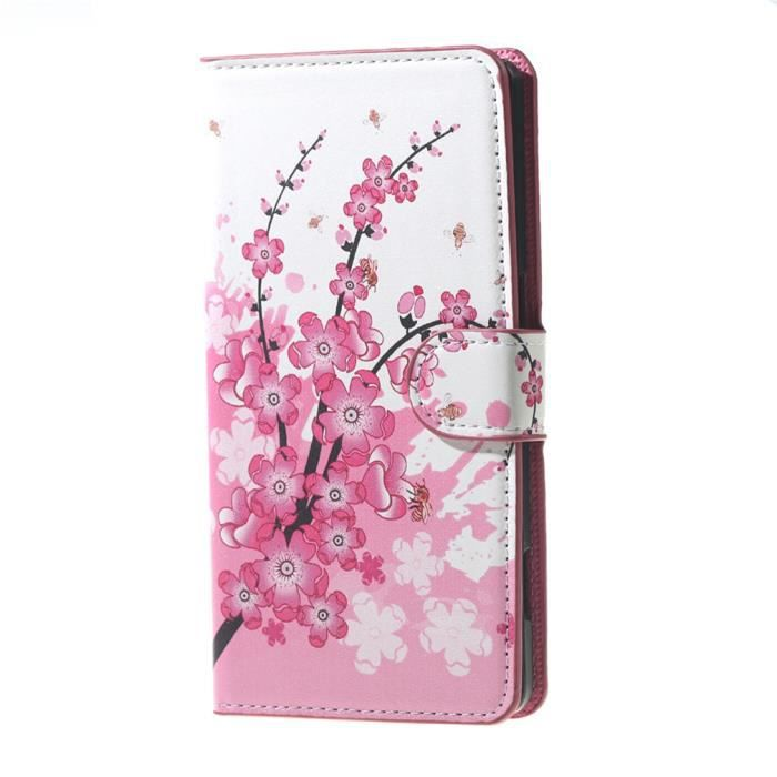 Coque etui rabat housse pour wiko lenny 2 2nd for Housse wiko lenny 2