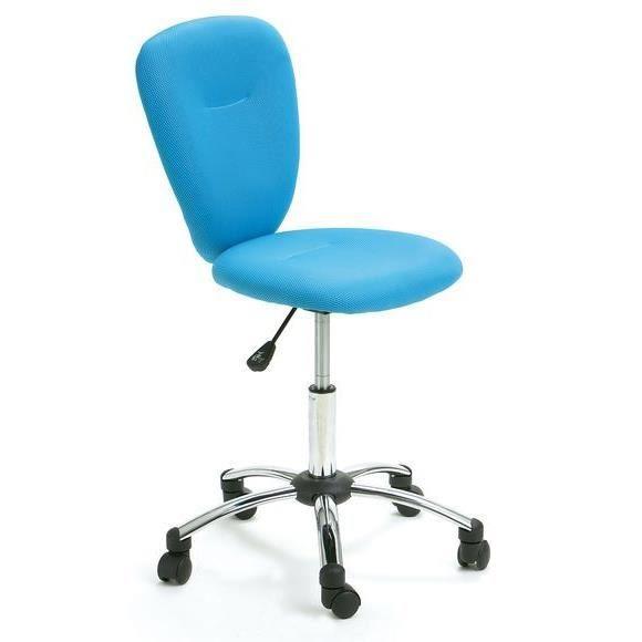 Fauteuil de bureau pezzi bleu achat vente chaise de - Achat fauteuil de bureau ...
