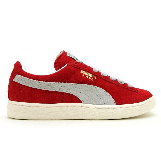 puma suede vntg red clay femme rouge achat vente puma suede vntg red clay femme pas cher. Black Bedroom Furniture Sets. Home Design Ideas