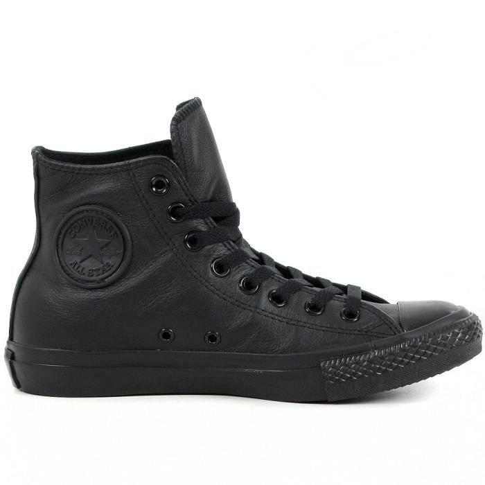 chaussure converse montante en c femme noir achat vente chaussure converse montante. Black Bedroom Furniture Sets. Home Design Ideas