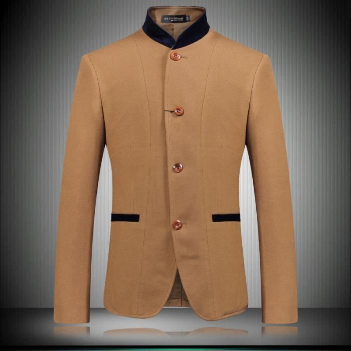 blazer homme r tro angleterre le haut homme d c jaune achat vente gilet de costume. Black Bedroom Furniture Sets. Home Design Ideas