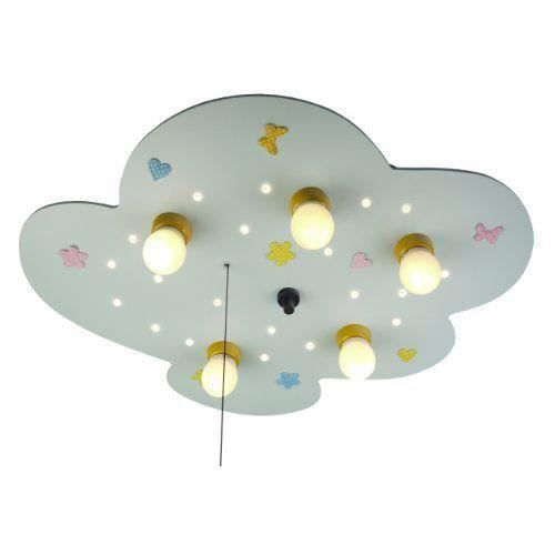 niermann standby 761 plafonnier pour enfants nuage. Black Bedroom Furniture Sets. Home Design Ideas