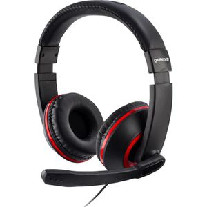 CASQUE - MICRO CONSOLE Casque Gaming Stéréo XH100 Rouge pour PS4, Xbox On