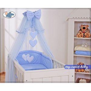 Ciel de lit bleu achat vente ciel de lit bleu pas cher cdiscount - Ciel de lit bleu ...
