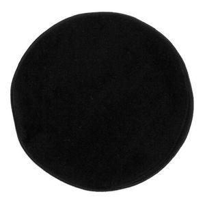 tapis rond noir achat vente tapis rond noir pas cher cdiscount. Black Bedroom Furniture Sets. Home Design Ideas