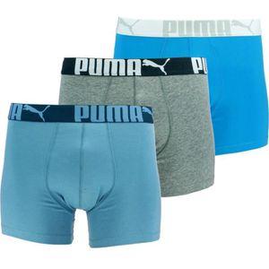 BOXER - SHORTY PUMA - Lots de 3 Boxers Classic - Homme