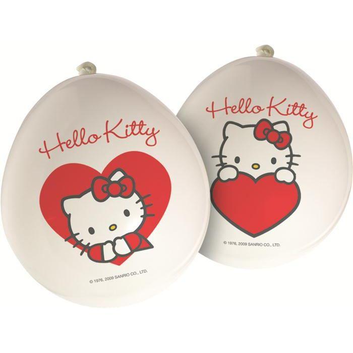 Ballons hello kitty achat vente ballon d coratif cdiscount - Faire tenir des ballons en l air sans helium ...