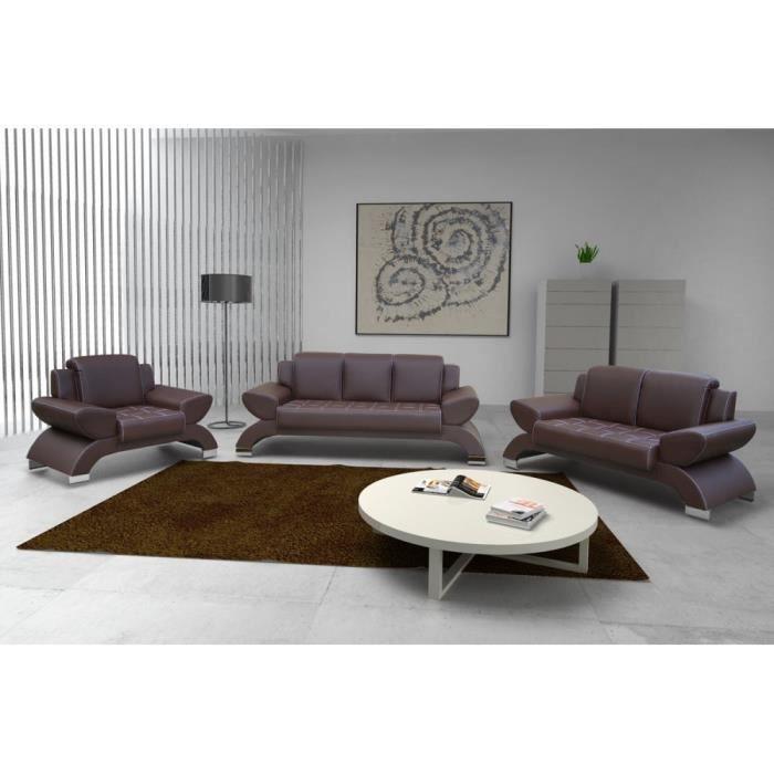 Justhome orion ensemble de meubles de salon 3 2 1 en for Ensemble de salon complet
