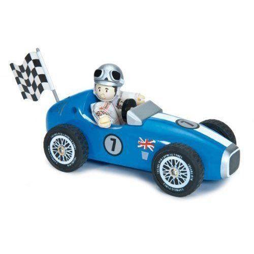 le toy van 12461 la voiture de course bleue achat vente voiture camion cdiscount. Black Bedroom Furniture Sets. Home Design Ideas