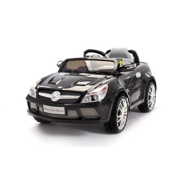 voiture lectrique mercedes noire sl65 amg achat vente voiture enfant soldes d t cdiscount. Black Bedroom Furniture Sets. Home Design Ideas