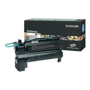 LEXMARK Cartouche toner X792X1KG - Compatible X792 - Noir - Tr?s élevé 20.000 pages