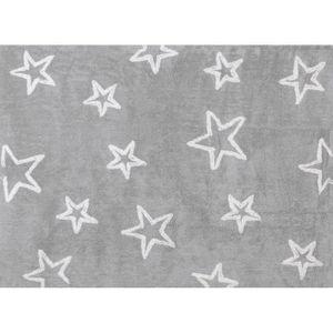 tapis chambre enfant gris achat vente tapis chambre enfant gris pas cher cdiscount. Black Bedroom Furniture Sets. Home Design Ideas