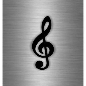 autocollant note de musique achat vente autocollant note de musique pas cher cdiscount. Black Bedroom Furniture Sets. Home Design Ideas