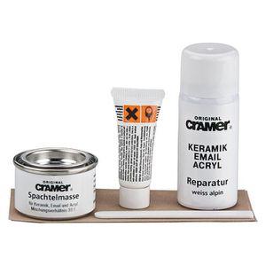 Mastic salle de bains achat vente mastic salle de bains pas cher cdiscount - Kit reparation baignoire acrylique ...