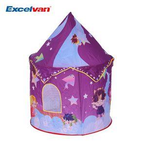 excelvan tente de jeu pour enfants tente de th me d toile. Black Bedroom Furniture Sets. Home Design Ideas