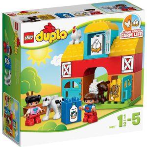 ASSEMBLAGE CONSTRUCTION LEGO® DUPLO 10617 Ma première Ferme