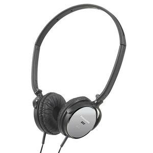 panasonic rp hc101e casque audio anti bruit noir casque couteur audio avis et prix pas. Black Bedroom Furniture Sets. Home Design Ideas
