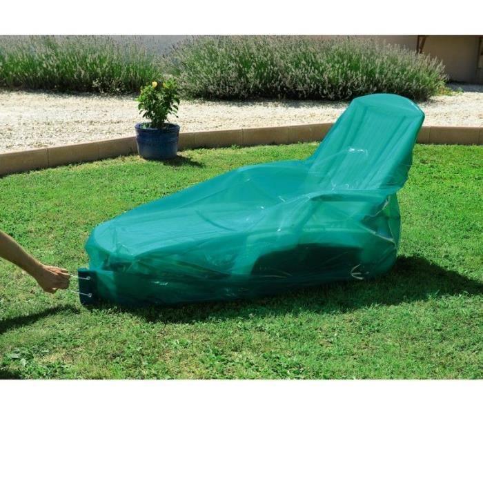 housse bache de protection pour transat achat vente housse meuble jardin housse bache de. Black Bedroom Furniture Sets. Home Design Ideas