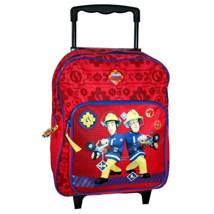 sam le pompier fireman sam enfants trolley sac dos emergency achat vente sac dos. Black Bedroom Furniture Sets. Home Design Ideas