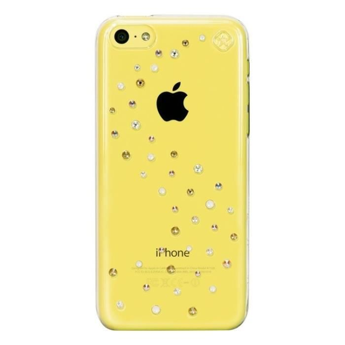 telephonie accessoires portable gsm coque apple iphone c bling my thing strass swarov f  bli