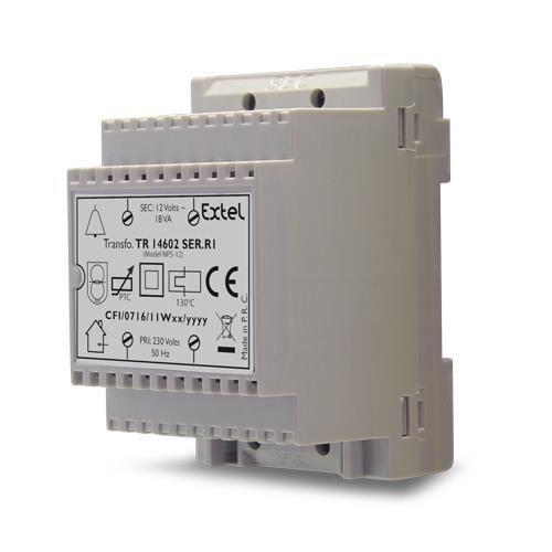 Transformateur d 39 alimentation extel 230 v 12 achat - Transformateur 220v 12v castorama ...