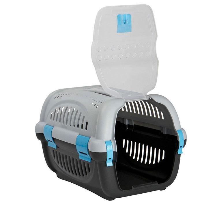 grande caisse de transport pour chat petit chien 51 cm. Black Bedroom Furniture Sets. Home Design Ideas