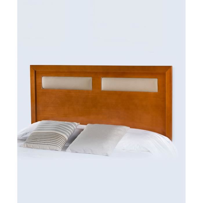 t te de lit detalle tapiss pu 90 cm en mdf pu 112 x 106 x 3 cm achat vente t te de lit. Black Bedroom Furniture Sets. Home Design Ideas