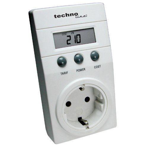 technoline cost control appareil de surveillance de la consommation lectrique blanc import. Black Bedroom Furniture Sets. Home Design Ideas