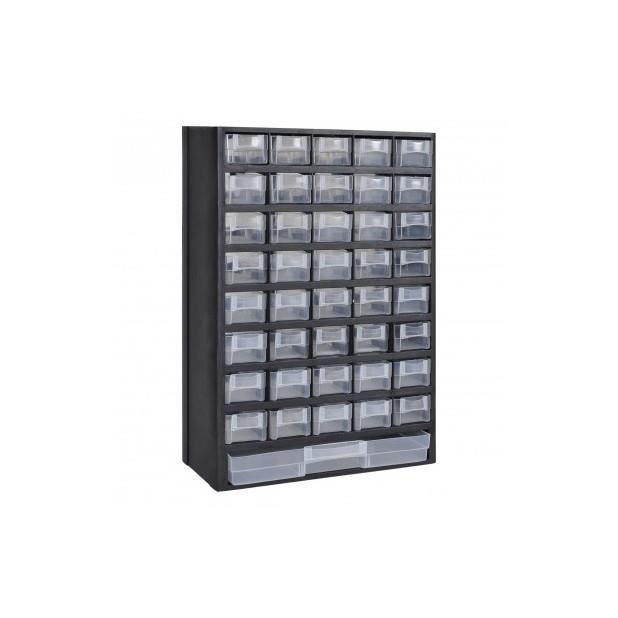Superbe 41 tiroirs armoire module de rangement plastique achat vente armo - Cdiscount armoire de rangement ...