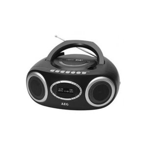 AEG SR 4370BK DAB Boombox Dab+ / CD / USB - Noir