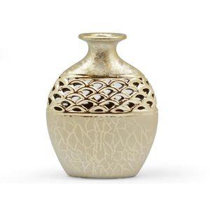vase dore achat vente vase dore pas cher cdiscount. Black Bedroom Furniture Sets. Home Design Ideas