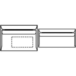 Enveloppe c6 achat vente enveloppe c6 pas cher cdiscount for Enveloppe sans fenetre