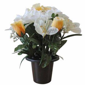 fleurs artificielles lys achat vente fleurs artificielles lys pas cher soldes cdiscount. Black Bedroom Furniture Sets. Home Design Ideas