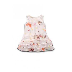 ROBE Robe GUESS Fluide Butterfly Blanc