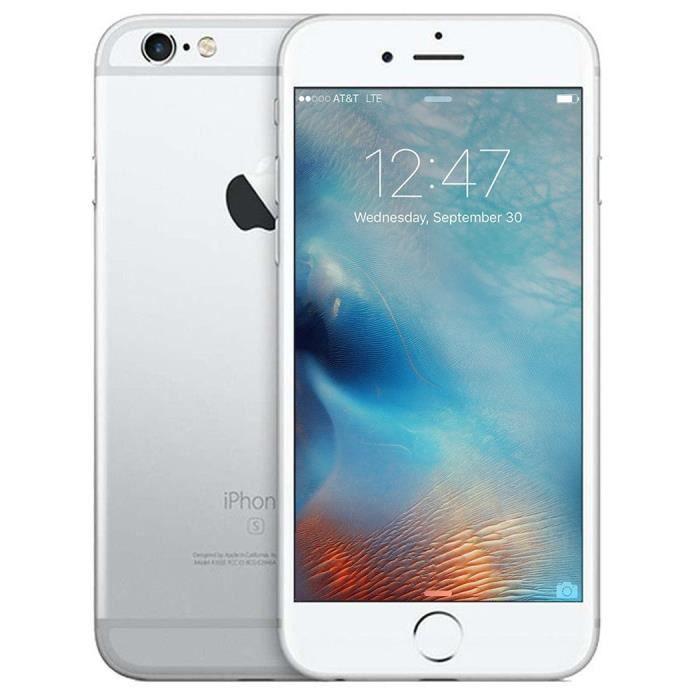 apple iphone 6 s 4 7 16 gb gsm argent au standard sans. Black Bedroom Furniture Sets. Home Design Ideas