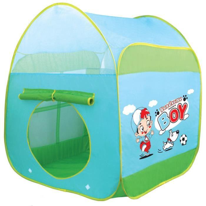 enfants pop up tente de jeu de conception comme une maison de poup e avec un unique imprim. Black Bedroom Furniture Sets. Home Design Ideas