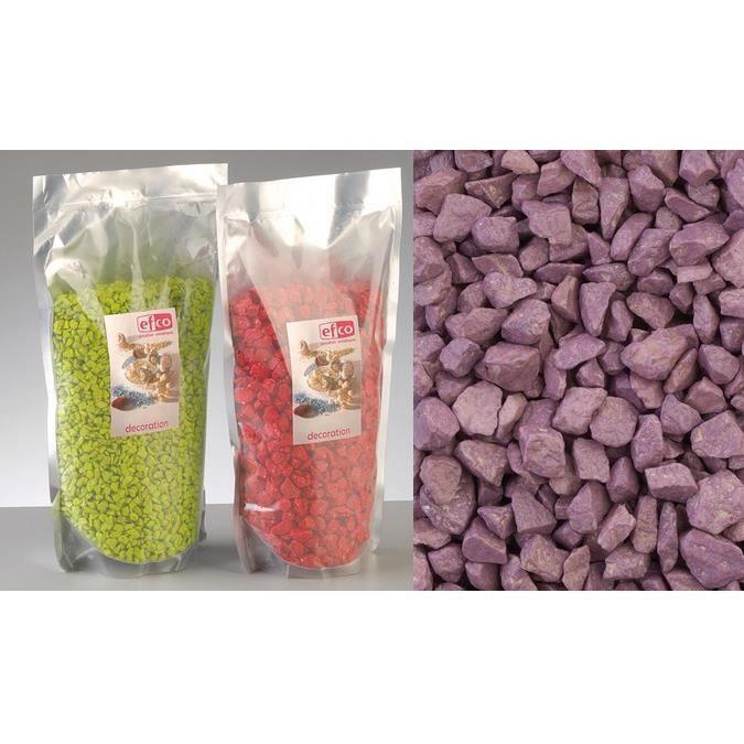Gravillon color lilas d coratif 500 grammes achat for Gravillon de decoration