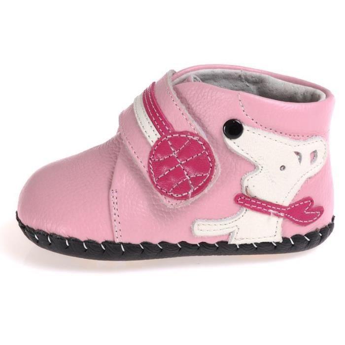 caroch chaussures premiers pas rose achat vente babies soldes d hiver d s le 6 janvier. Black Bedroom Furniture Sets. Home Design Ideas