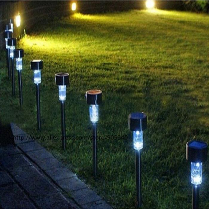 5pcs lot imperm able l 39 eau solaire conduit conduit for Lumiere jardin exterieur