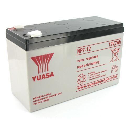 batterie 12 volts 7 ah achat vente batterie machine outil cdiscount. Black Bedroom Furniture Sets. Home Design Ideas